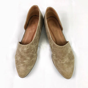 Side Cut-Out Flats (size 6 available) - 2 colors