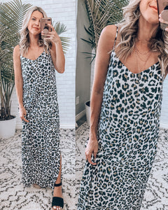 She's A Wild One Maxi Dress