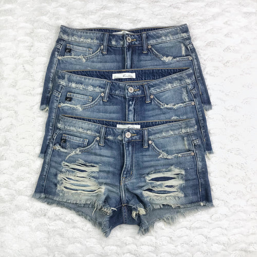 Malibu Distressed Cutoffs