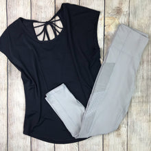 Anna Cropped Athletic Leggings (size L in stock)