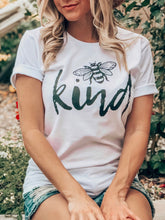 """Bee"" Kind Graphic Tee (size 2XL, 3XL)"