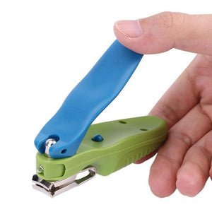 Automatic LED Light Nail Clipper