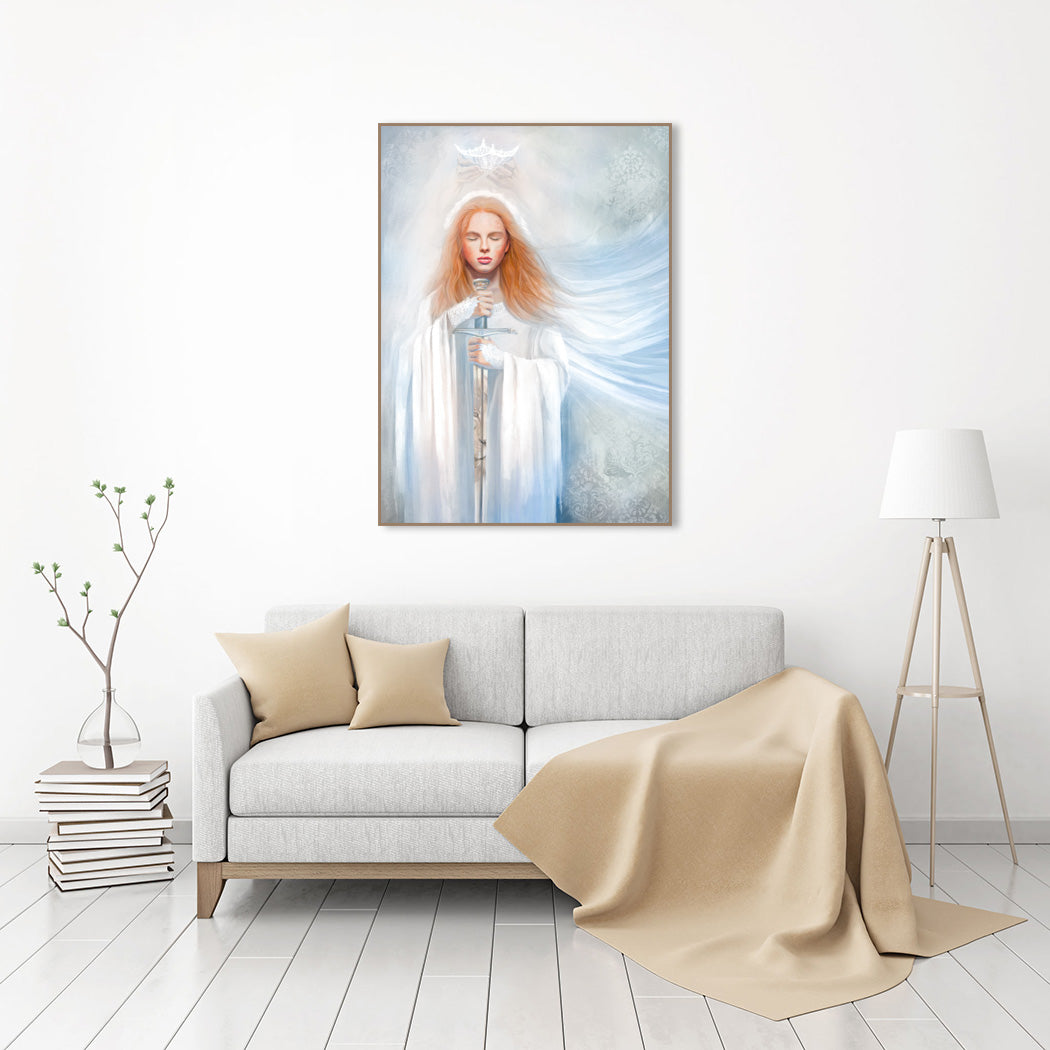 rt print - Bride of Christ - Dedicated to the Lord - Ain Vares Art