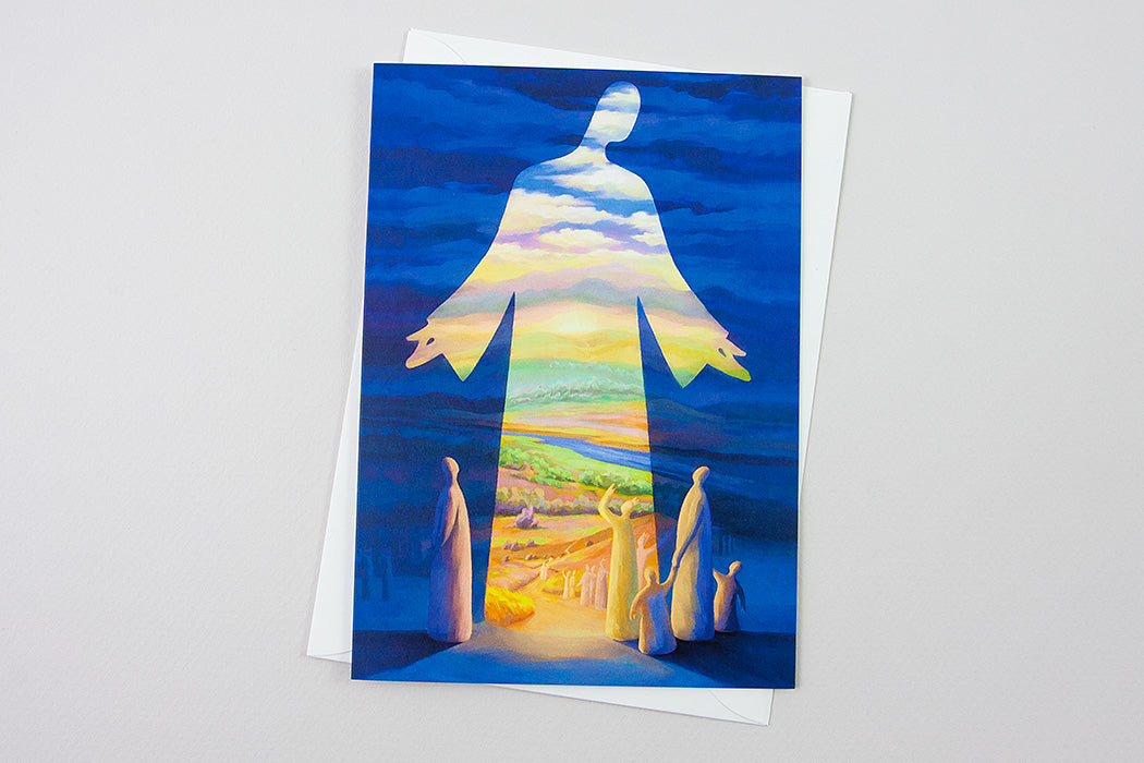 Greeting-Card - Jesus is the Way the Truth and the Life, John 14:6 - Ain Vares Art