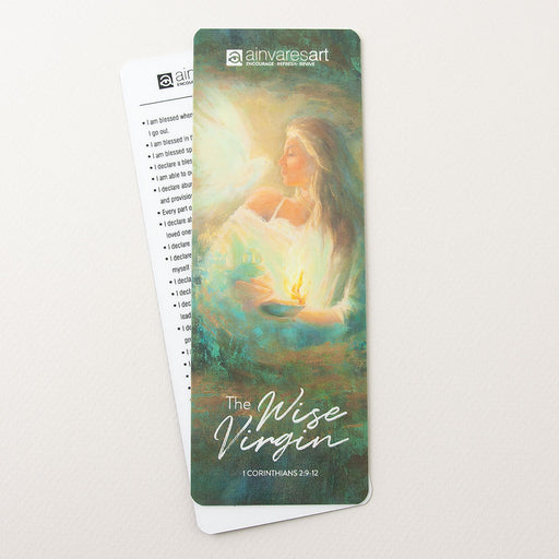 "Bookmark ""The Wise Virgin"" 1 Corinthians 2:9-12"