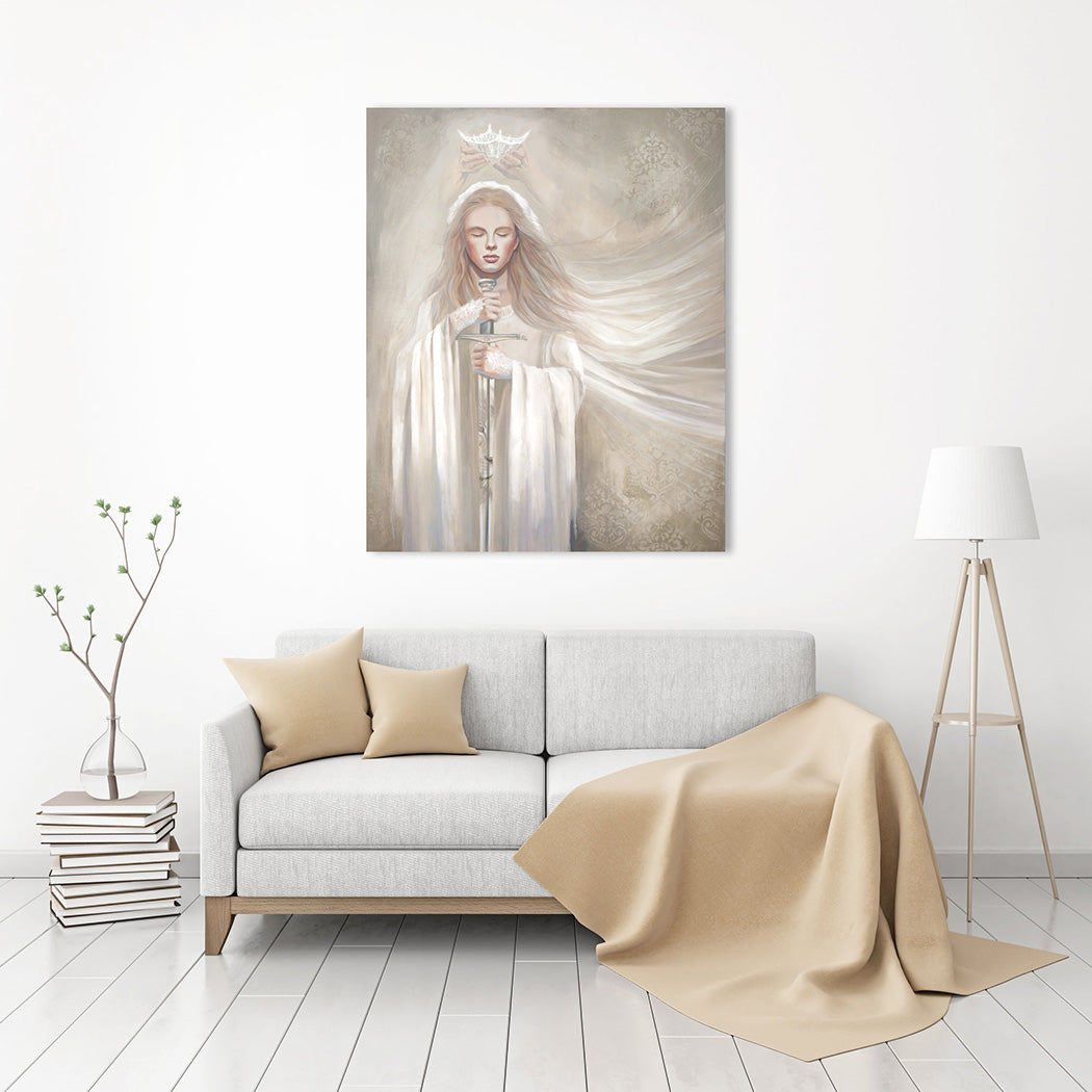Original_Painting_Bride-of-Christ_Dedicated-to-the-Lord_Ain-Vares-Art