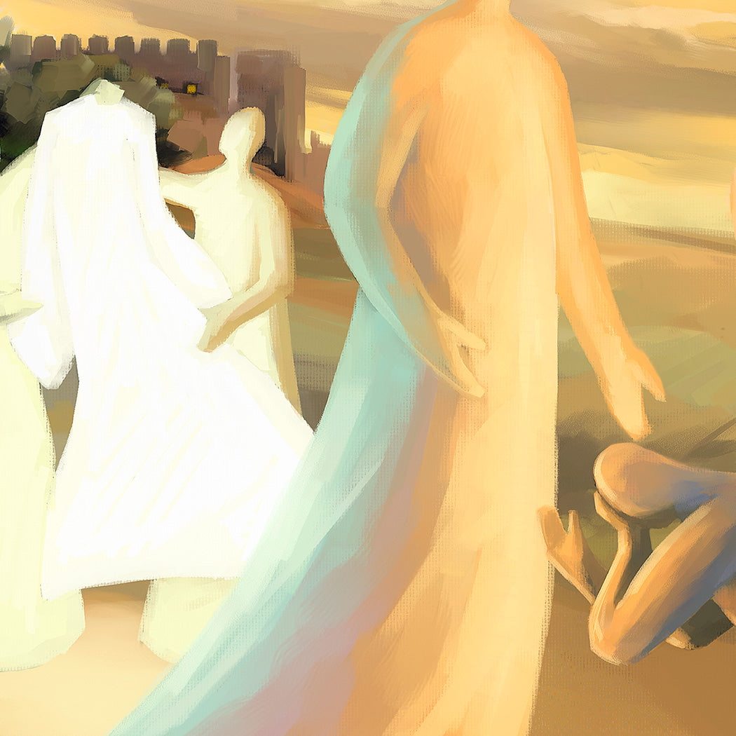 Art print - Return of the Prodigal Son, Luke 15:11-31 - Ain Vares Art