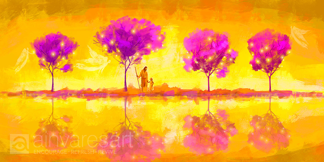 Art print - Tree of Life, Rev 22:2 - Ain Vares Art