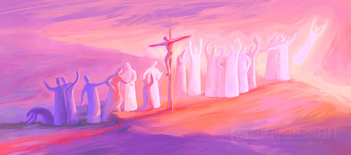 Art print - The way to life, Ephesians 2:1-10 - Ain Vares Art