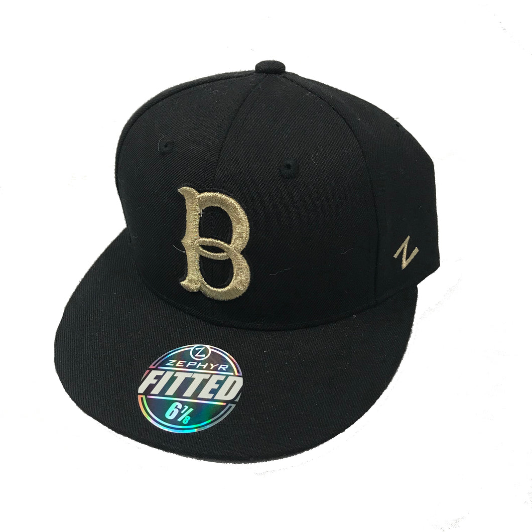 Black and Gold Bells Champs Hat