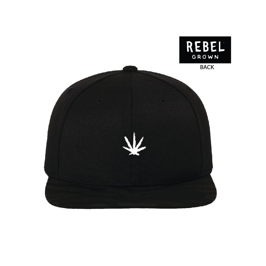 Embroidered Leaf Flexfit Hat