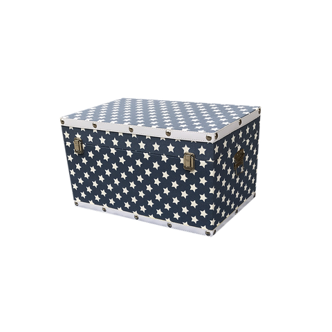 MM-1613S  Wooden Trunk - Anchor (Small) Dim: 45x26x24.5cm