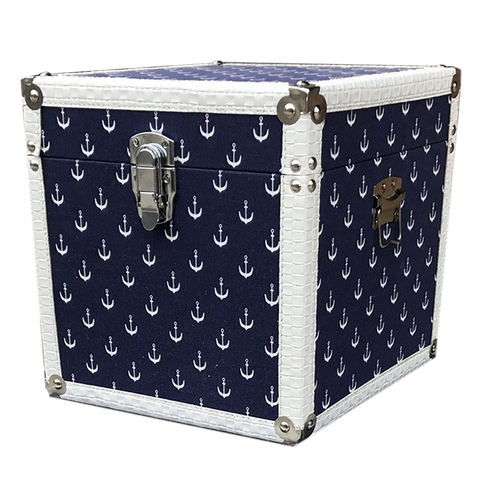 MM-1614L Wooden Trunk - Anchor (Large) Dim: 40x40x40cm
