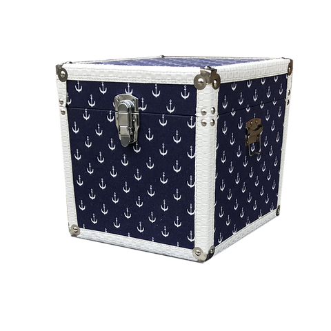 MM-1614M Wooden Trunk - Anchor (Medium) Dim: 35x35x35cm