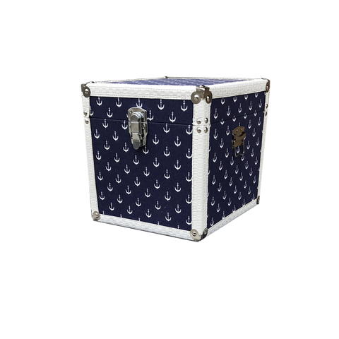 MM-1614S Wooden Trunk - Anchor (Small) Dim: 28x28x28cm