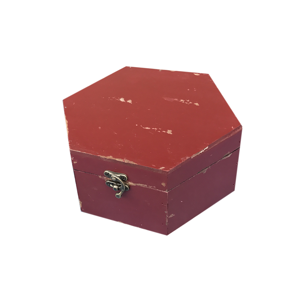 MM-16453S Wooden Box - Red (Small) Dim: 217.5x18.5x10.5cm