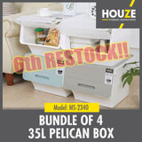 35L Pelican Box (Bundle Of 4)