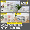 Sliding Lid 'Ladies' Shoe Box (Pack of 4pcs)