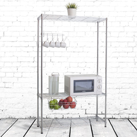 3 Tier Multi Utility Shelf (90Lx35Wx150H)