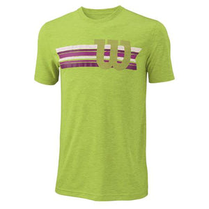 Wilson M Stripe W Tech Tee