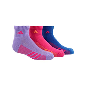 Adidas Girls Cushioned Socks (3 Pair)