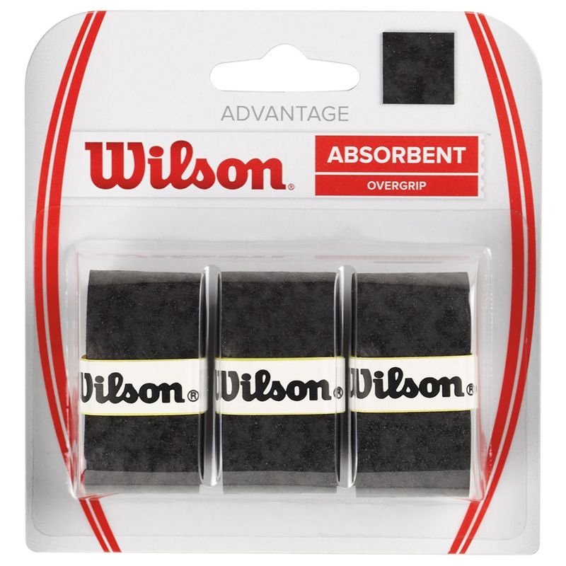 Wilson Absorbent Overgrip (Black)