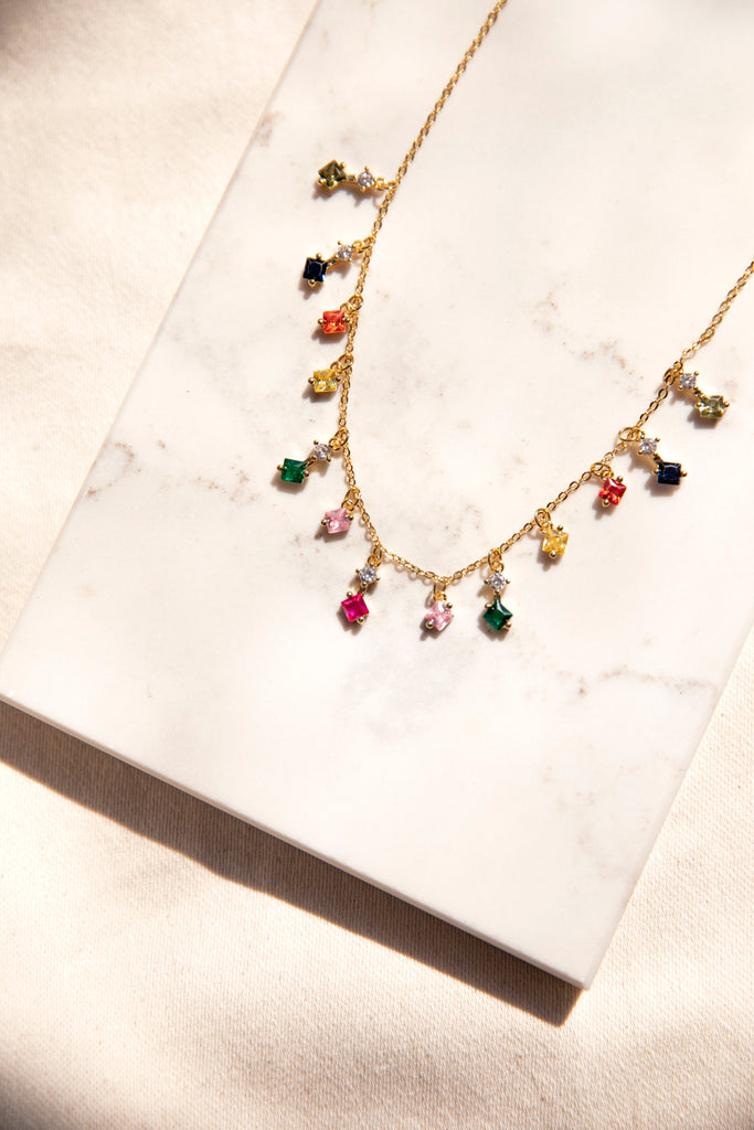 Rainbow Trinket Chain
