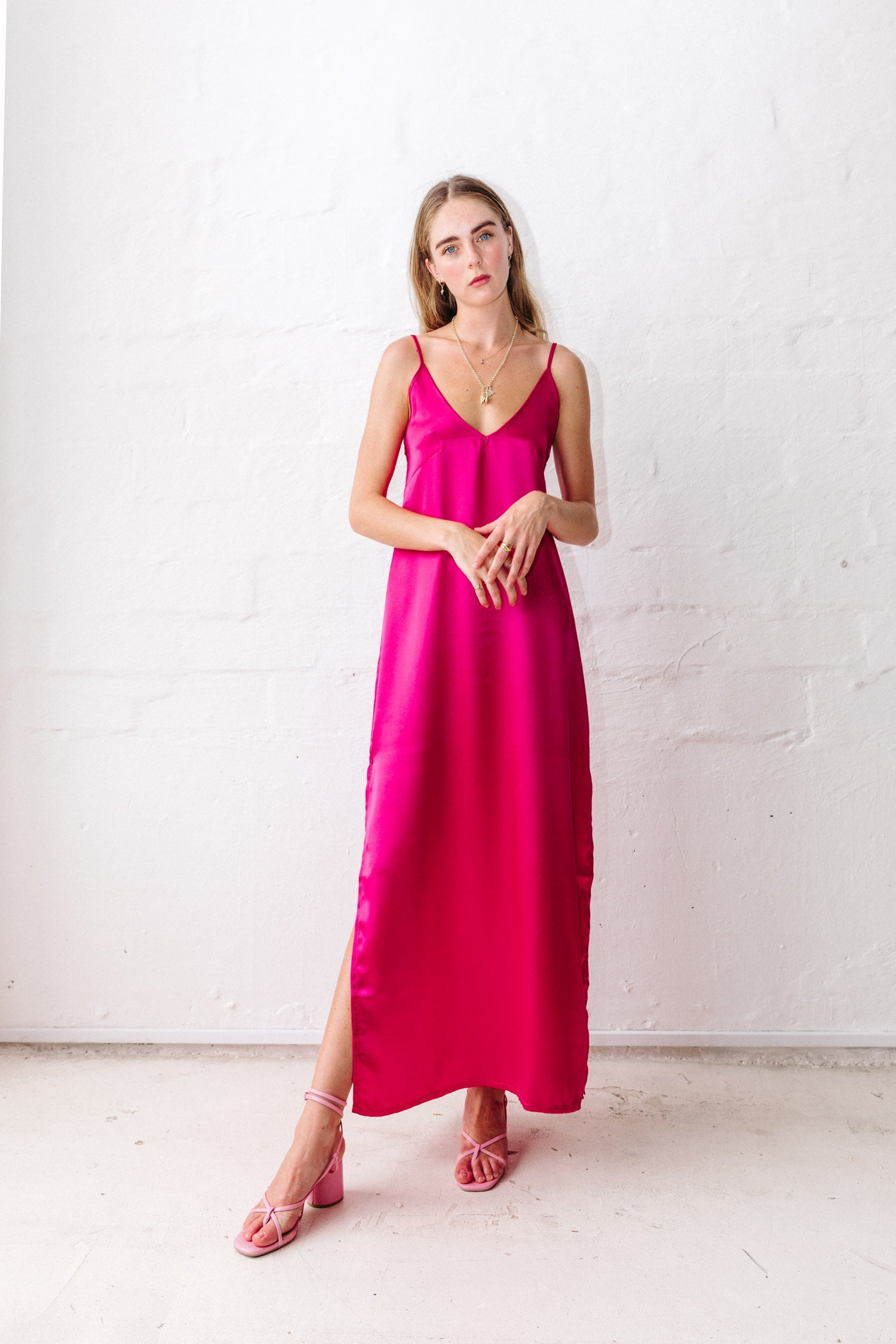 love come down maxi dress