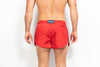 ORIGINS Model Swim Short - Solid Red