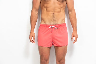 ORIGINS Model Swim Short - Solid Corail