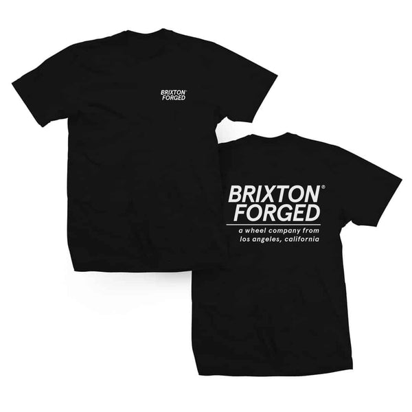 Brixton Forged Wheel Co. Team Tee (Black)