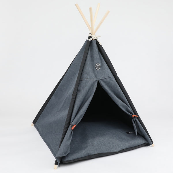 Barkholic Dog Pet Teepee HARBOR TEEPEE