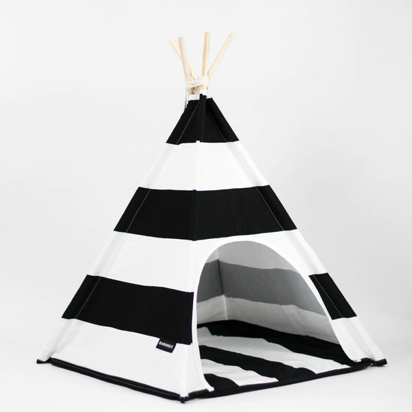 Black & White Teepee