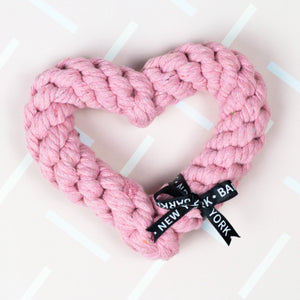 Pink Heart | Rope Toy