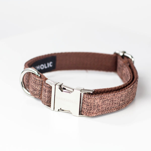 Toffee Tweed Collar