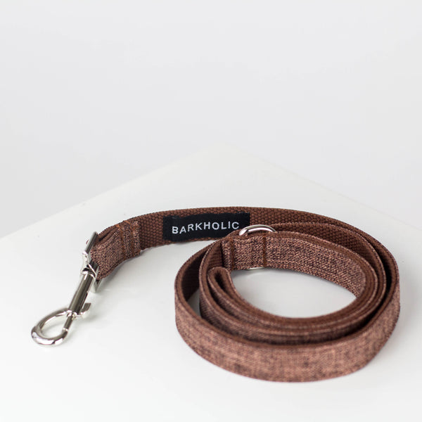 Toffee Tweed Leash