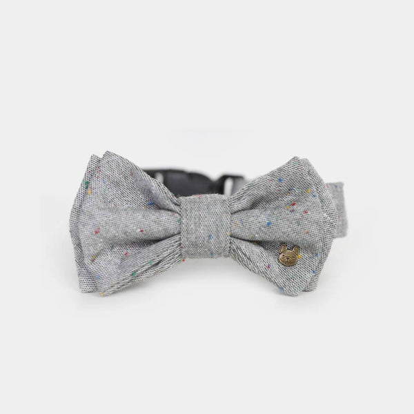 barkholic dog bow tie collar