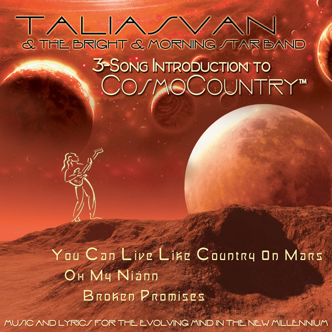3-Song Introduction to CosmoCountry™ CD