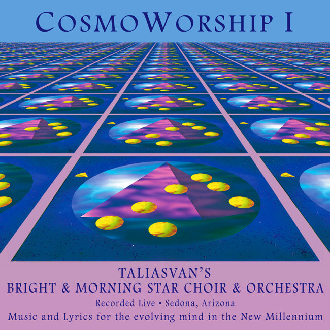 CosmoWorship I CD. Music of the Future for Minds of the Future.