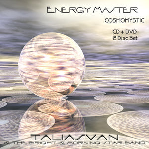 Energy Master CosmoMystic CD and DVD Set. Music of the Future for Minds of the Future.