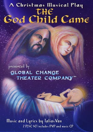 The God Child Came Christmas Play - CD/DVD set