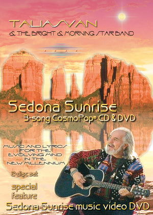 Sedona Sunrise 3-Song CosmoPop® CD & DVD Set