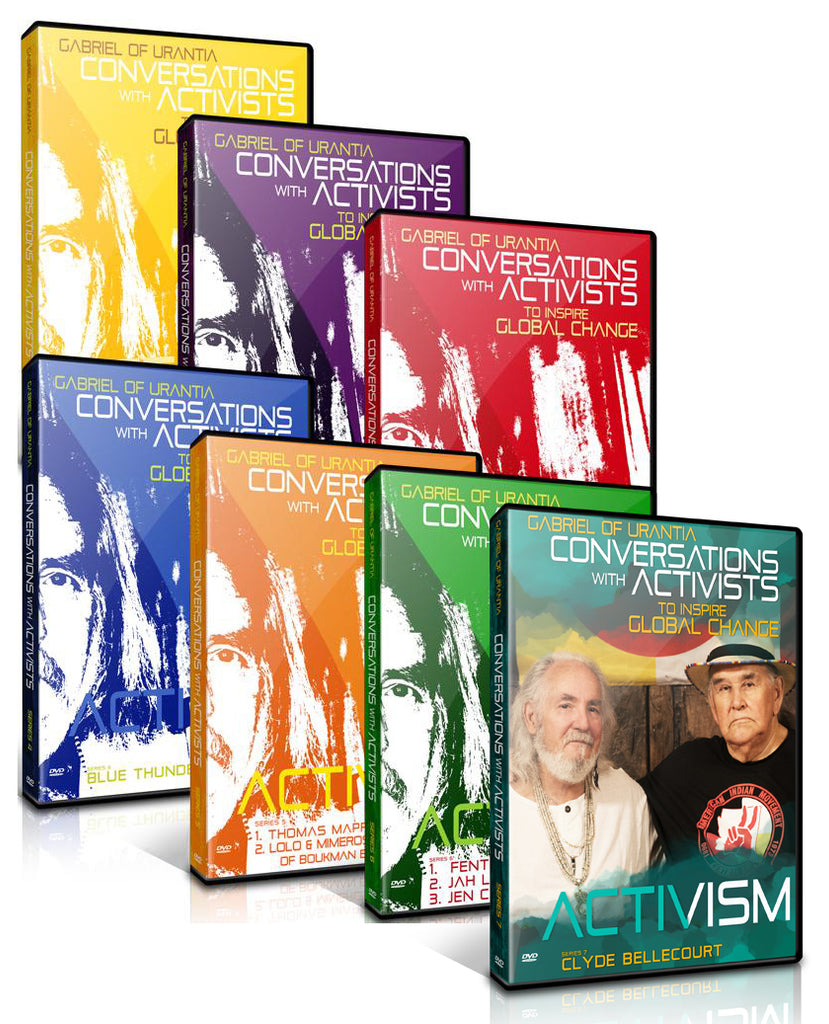 Conversations with Activists Complete 7-DVD Set