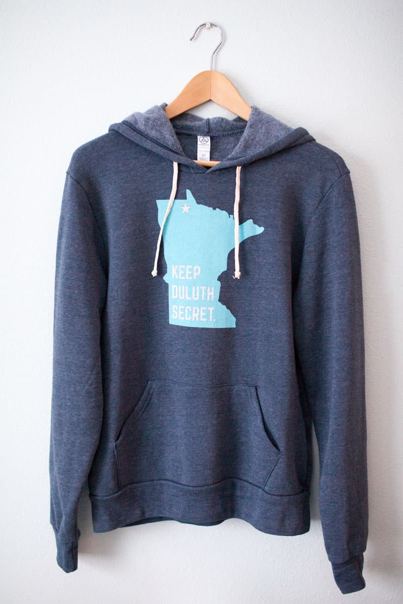 "Women's ""Keep Duluth Secret"" Sweatshirt"
