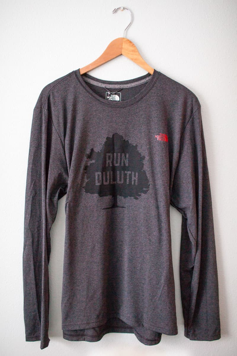 "Men's North Face ""Run Duluth"" Long Sleeve Tech Shirt"