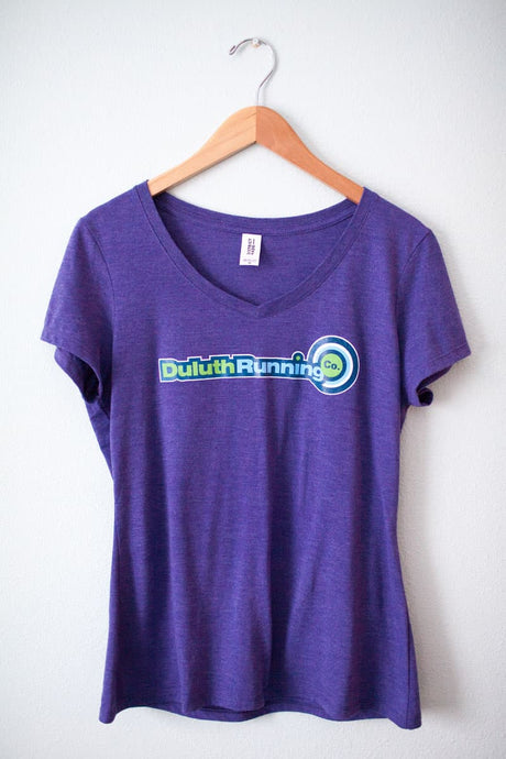 Women's Duluth Running Company Logo Cotton Tee