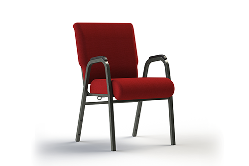 SS7741 Church Chair With Arms