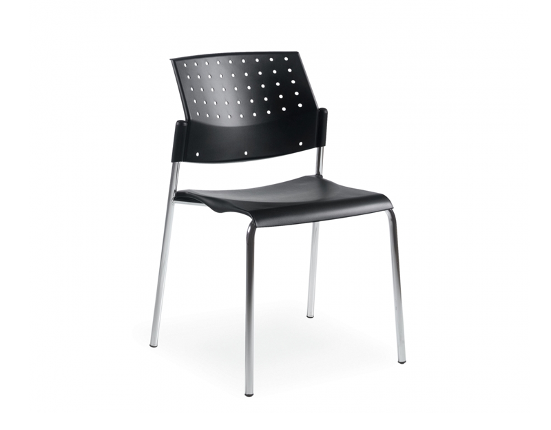 Sonic Armless Stacking Chair