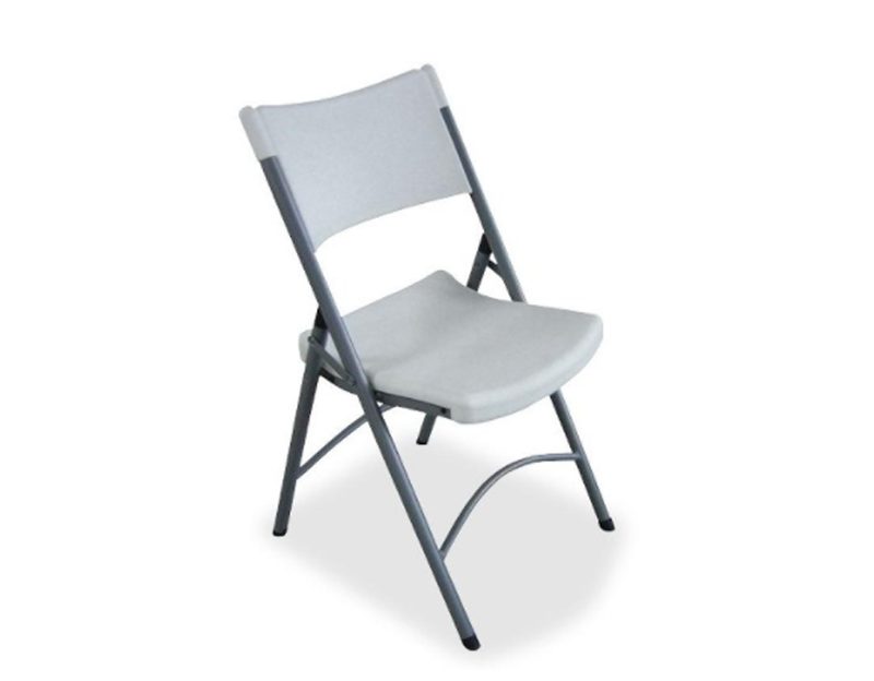 4 x Heavy-duty Tubular Folding Chair