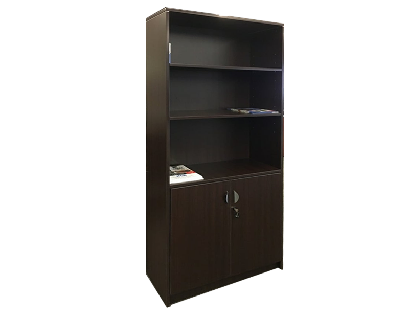 Momentum Bookcase with lower doors